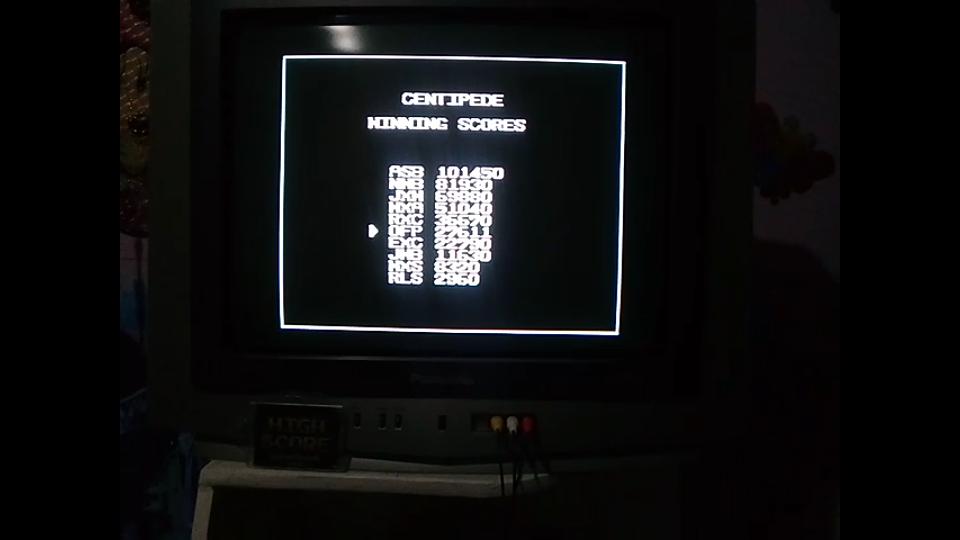 omargeddon: Arcade Classics: Centipede (Sega Genesis / MegaDrive) 27,611 points on 2019-05-06 19:53:27