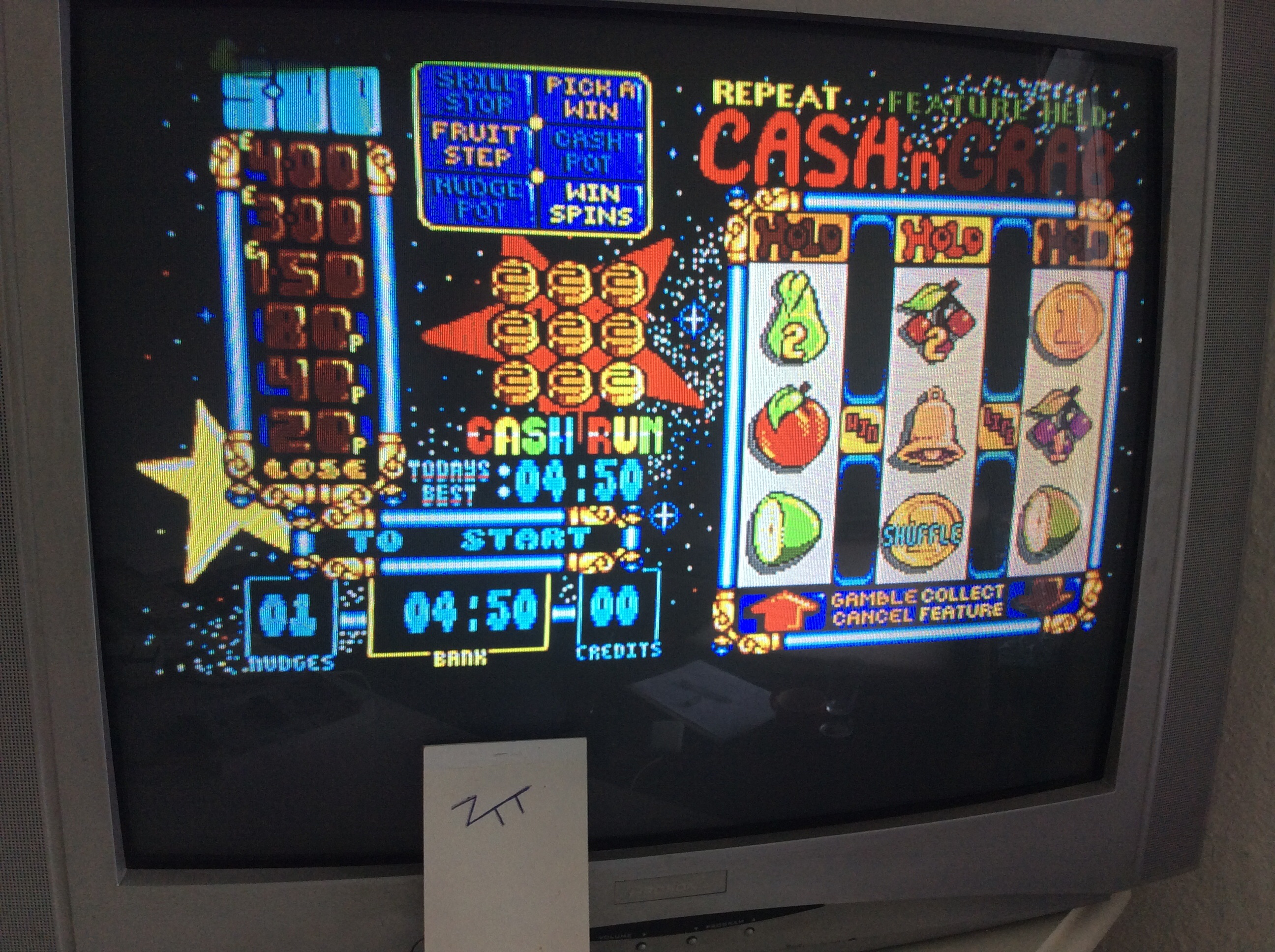 Frankie: Arcade Fruit Machine [Pence * 1][Game must be ended with