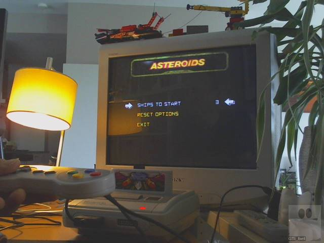 GTibel: Arcade`s Greatest Hits: The Atari Collection 1: Asteroids (SNES/Super Famicom) 11,130 points on 2019-12-23 04:00:44