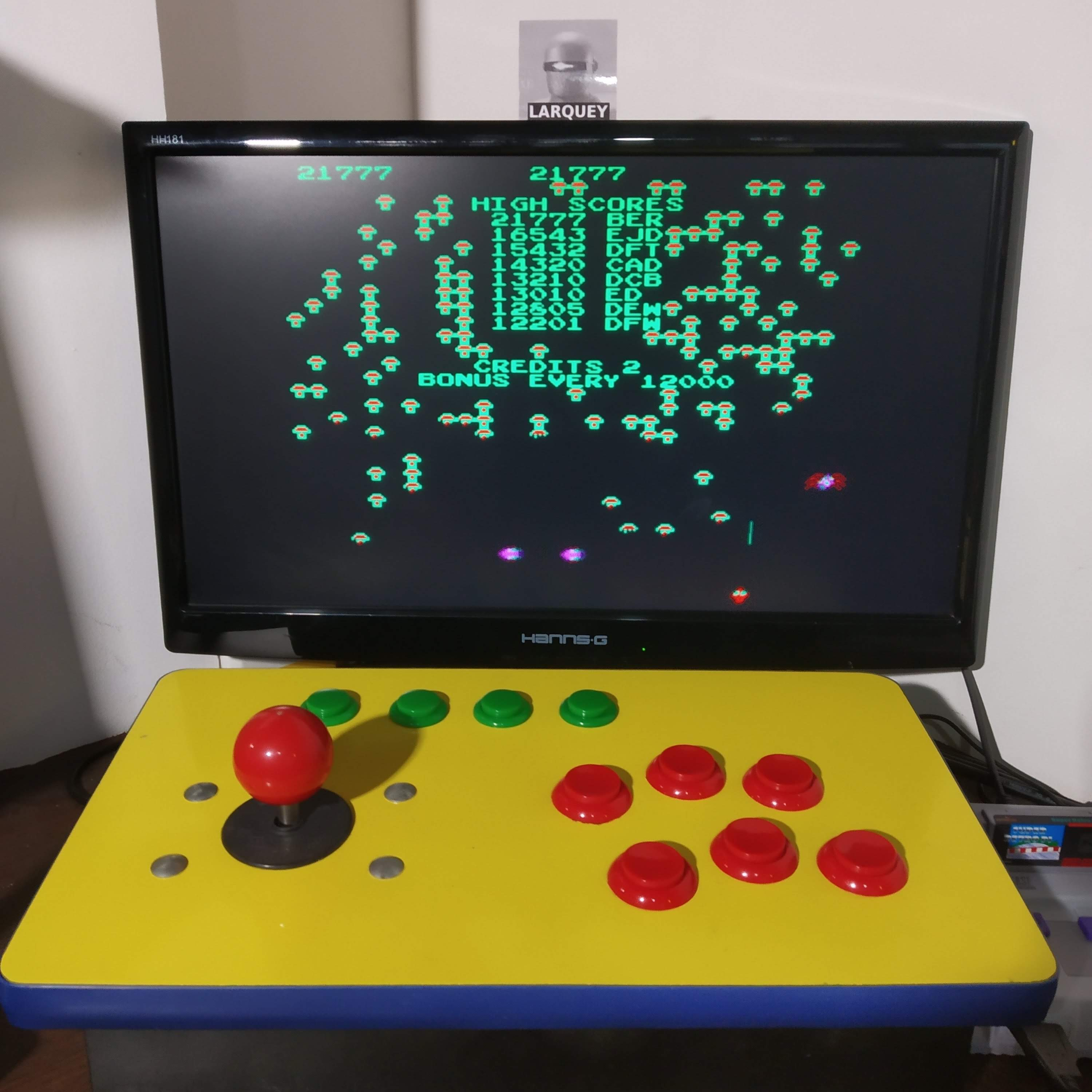 Larquey: Arcade`s Greatest Hits: The Atari Collection 1: Centipede (SNES/Super Famicom Emulated) 21,777 points on 2020-08-15 13:16:58