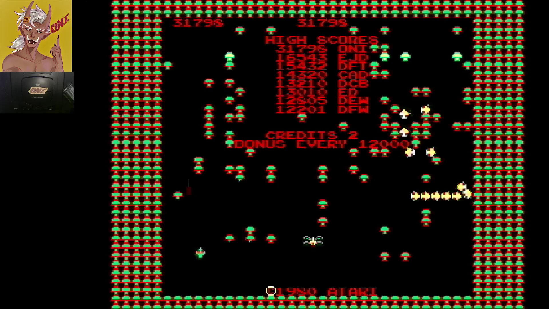 Arcade`s Greatest Hits: The Atari Collection 1: Centipede 31,798 points