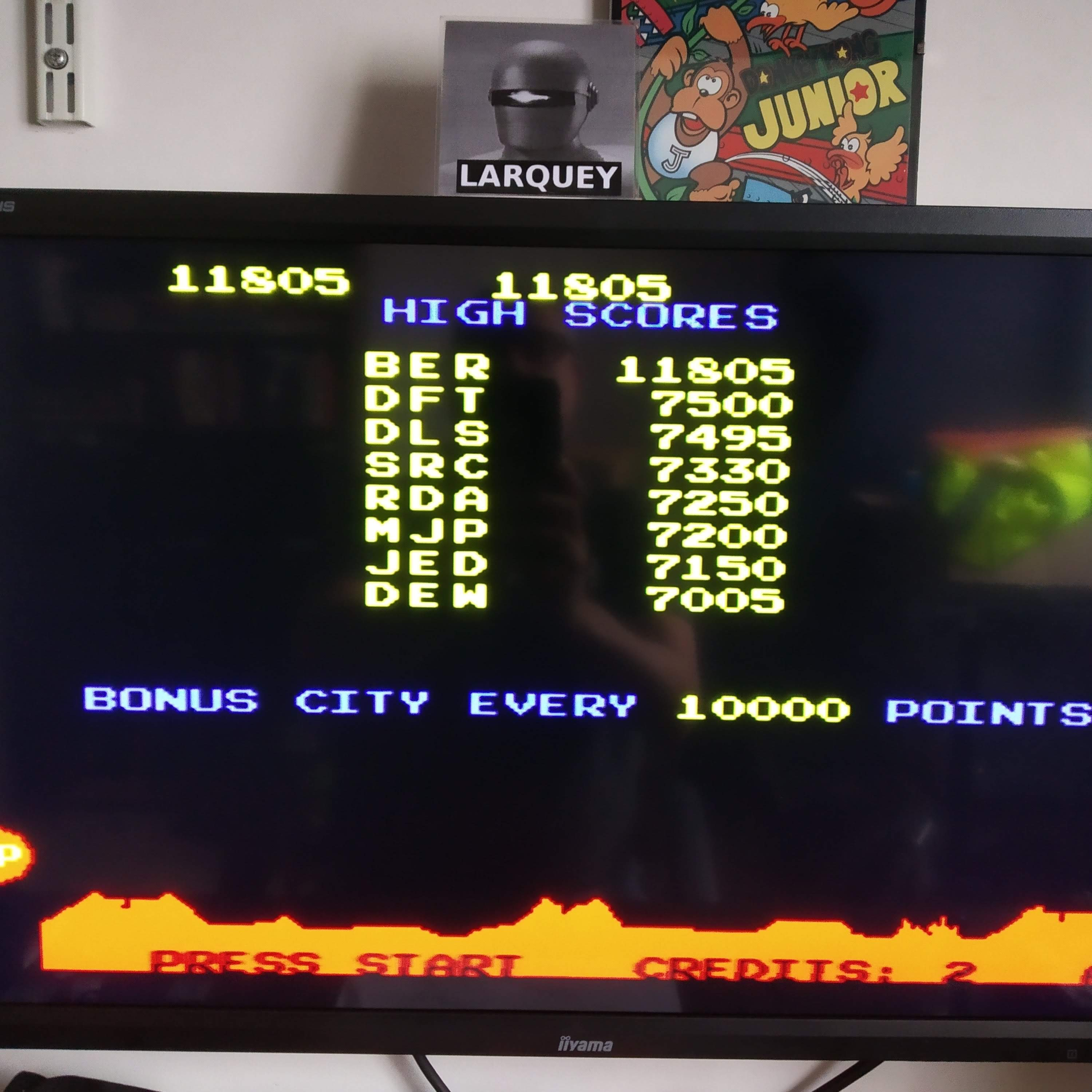 Larquey: Arcade`s Greatest Hits: The Atari Collection 1: Missile Command (Playstation 1 Emulated) 11,805 points on 2020-08-16 07:32:19