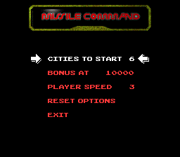 GTibel: Arcade`s Greatest Hits: The Atari Collection 1: Missile Command (SNES/Super Famicom Emulated) 5,780 points on 2019-12-23 04:19:04