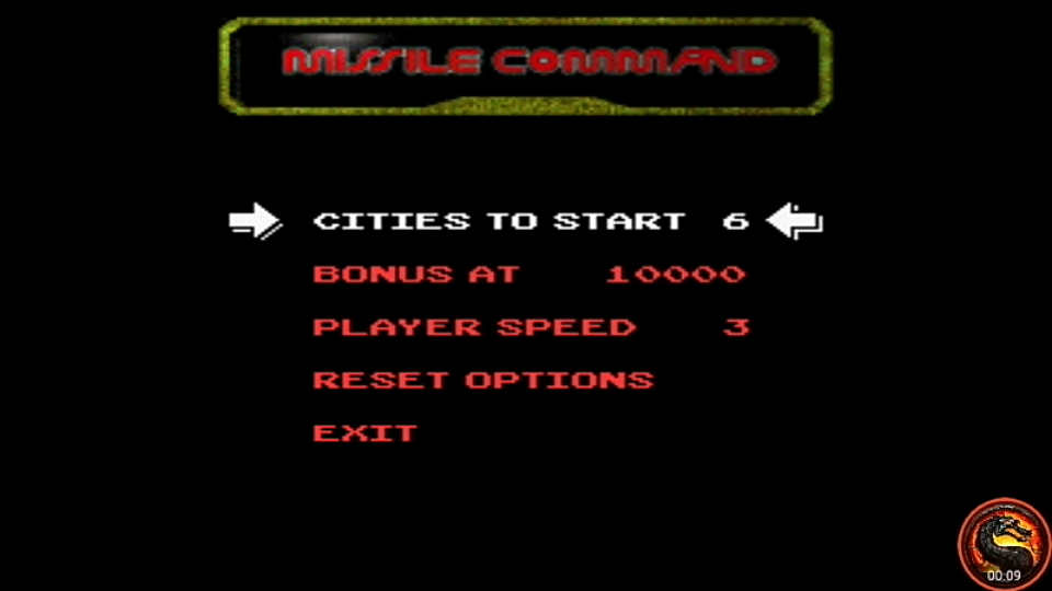 omargeddon: Arcade`s Greatest Hits: The Atari Collection 1: Missile Command (SNES/Super Famicom Emulated) 13,705 points on 2020-08-16 13:14:20