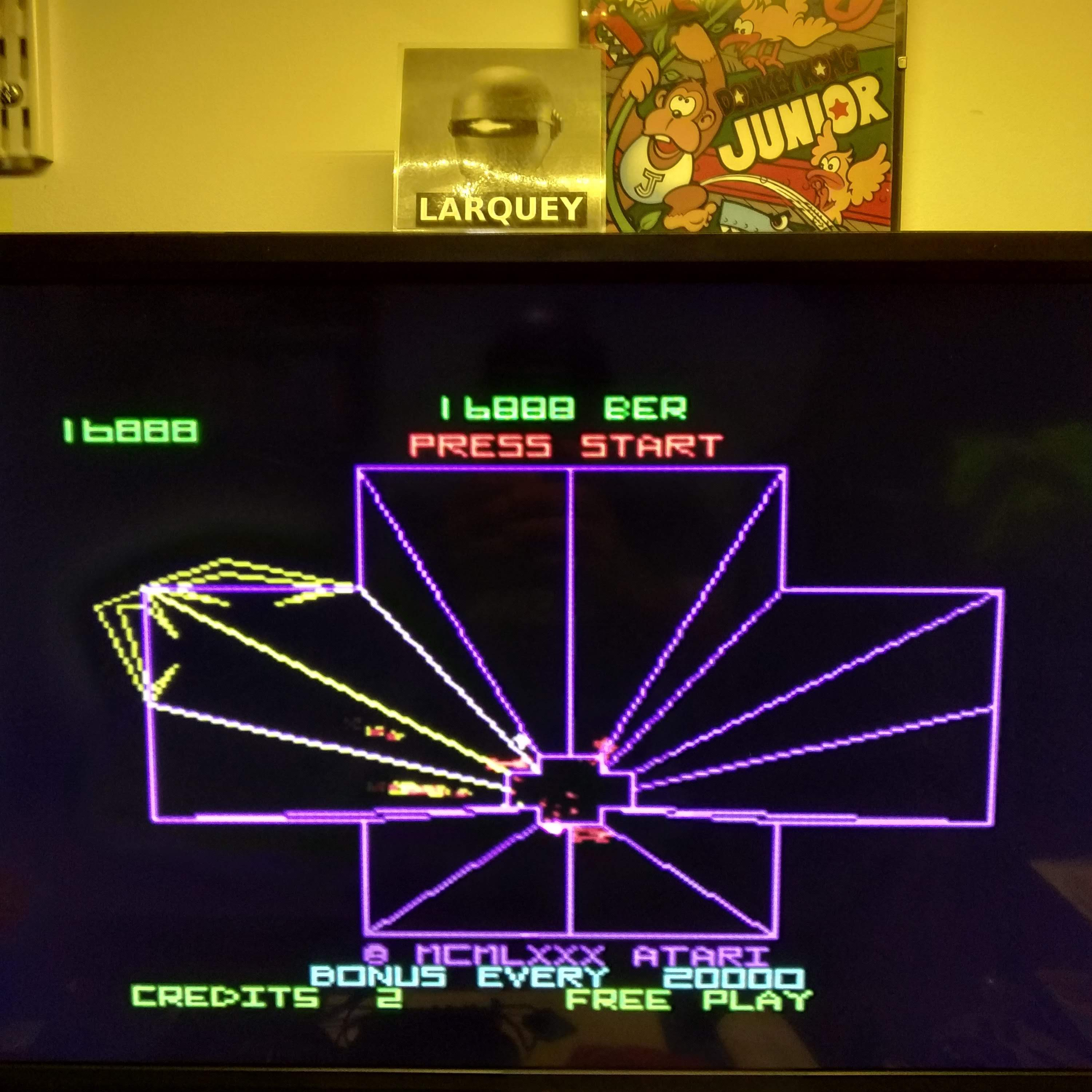 Larquey: Arcade`s Greatest Hits: The Atari Collection 1: Tempest (Playstation 1 Emulated) 16,888 points on 2020-08-15 13:51:52