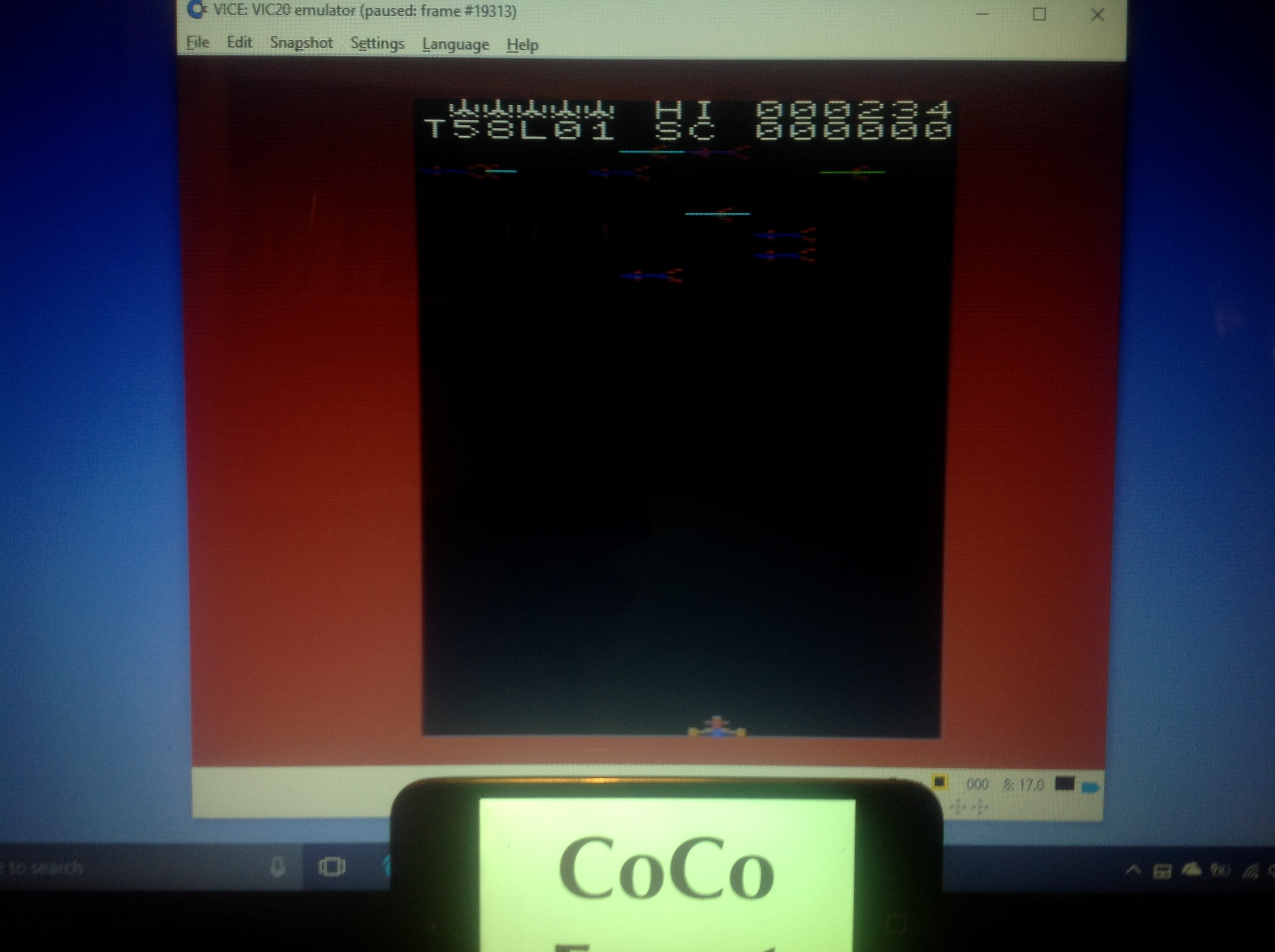 CoCoForest: Arcadia (Commodore VIC-20 Emulated) 234 points on 2018-01-21 10:33:40