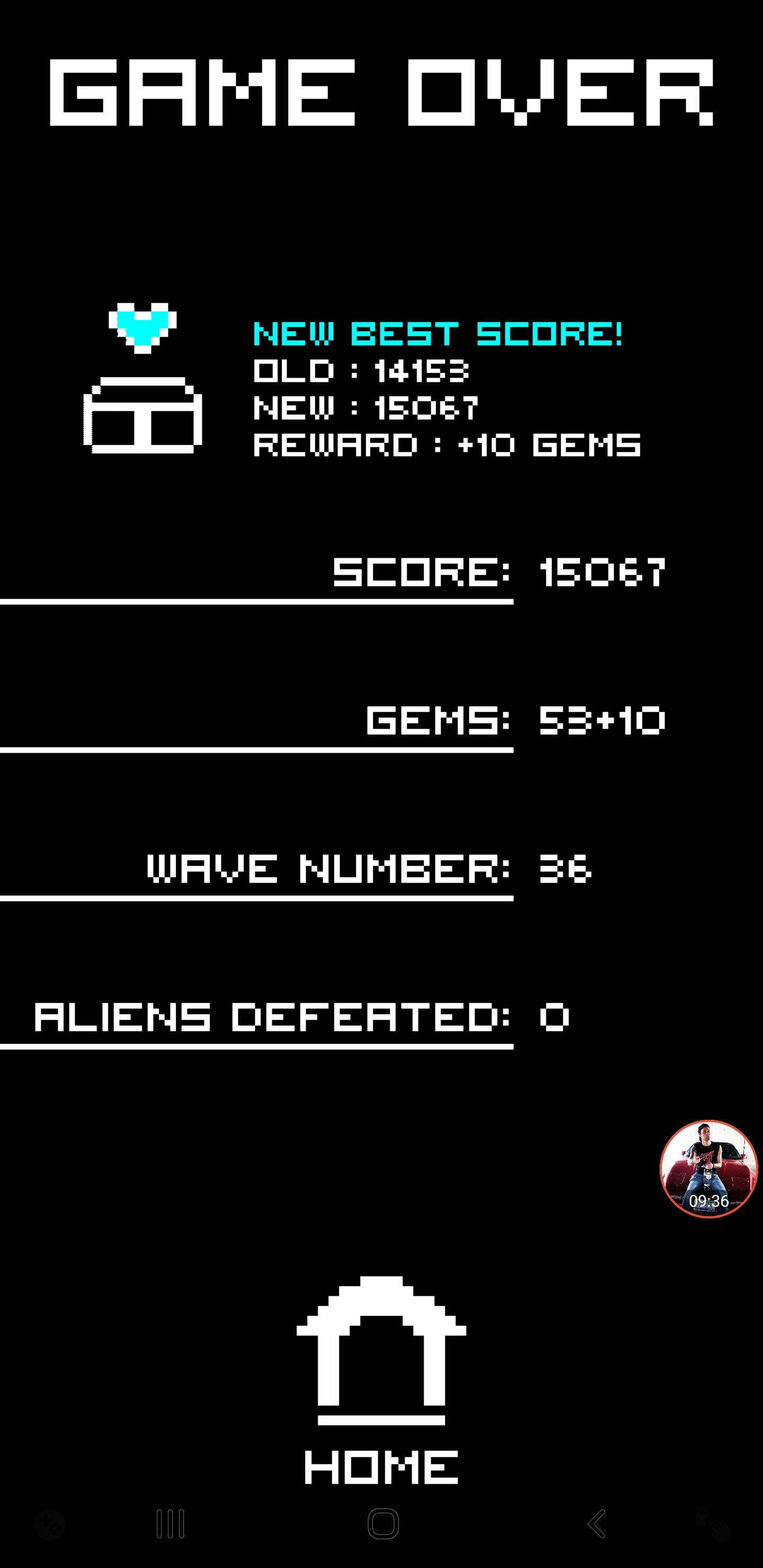JES: Arcadium (Android) 15,067 points on 2020-02-06 13:49:53