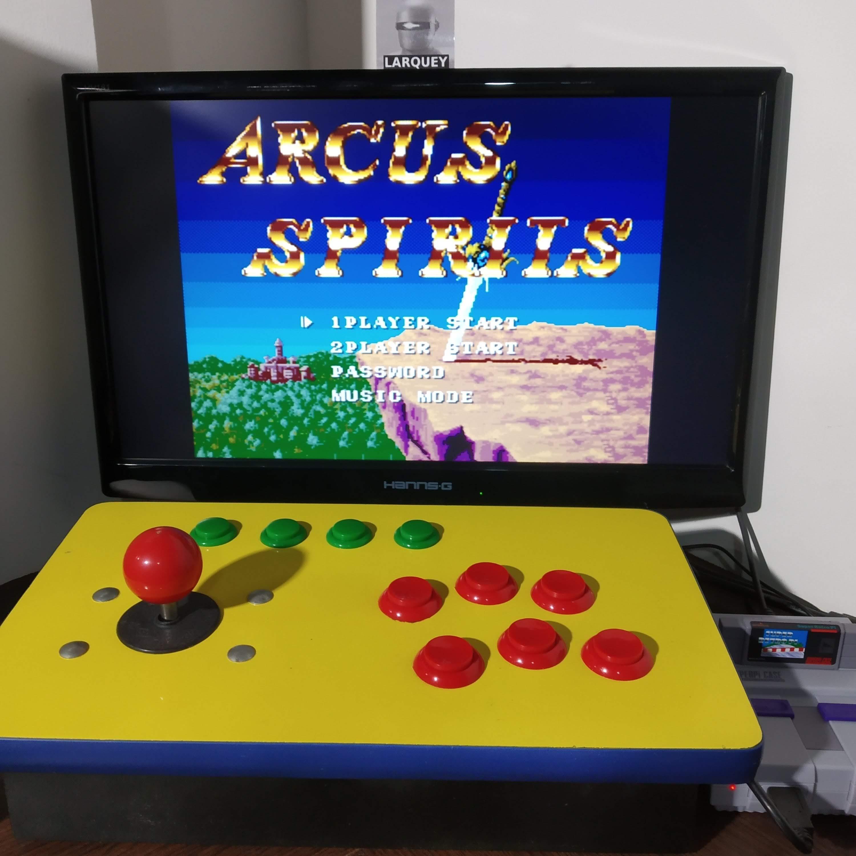 Larquey: Arcus Odyssey (SNES/Super Famicom Emulated) 310 points on 2020-08-17 11:58:03