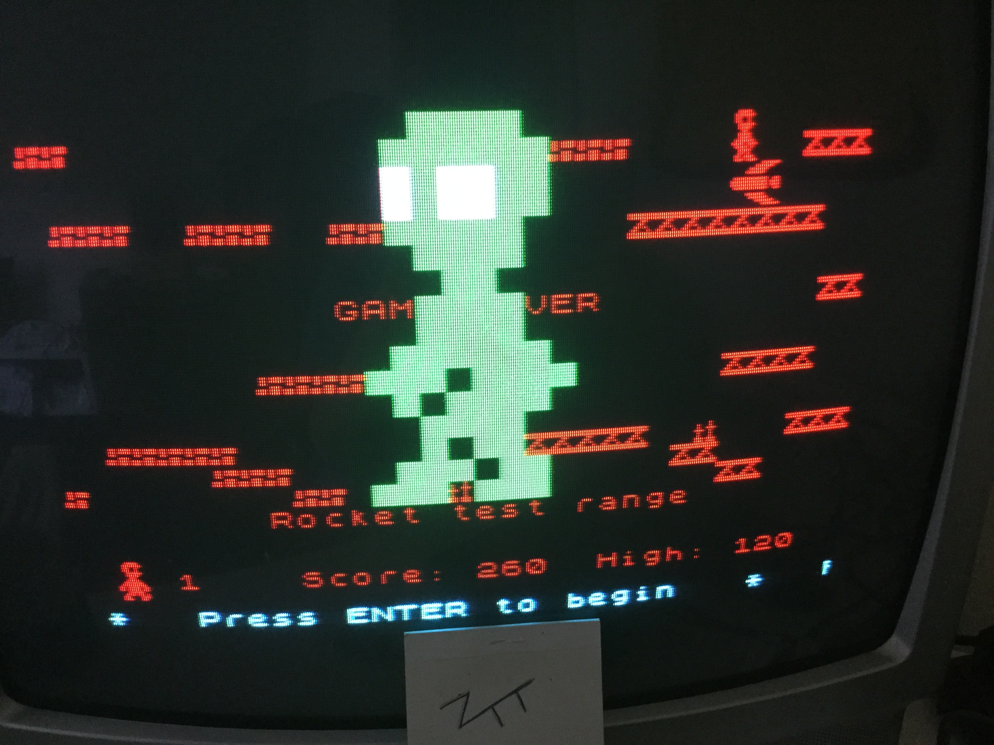 Frankie: Area 51 (ZX Spectrum) 260 points on 2017-07-03 11:40:18