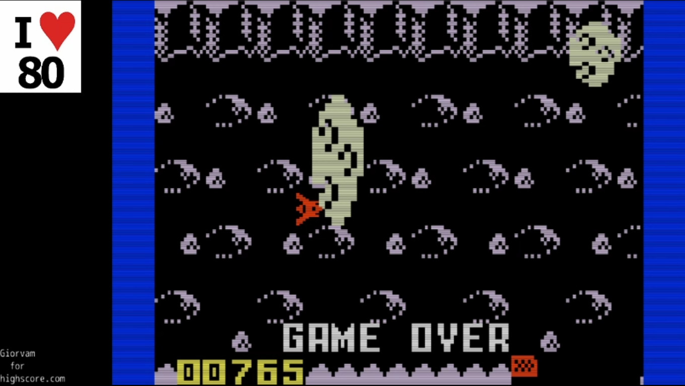 Giorvam: Area Fighter (Intellivision Emulated) 765 points on 2019-12-16 15:16:30