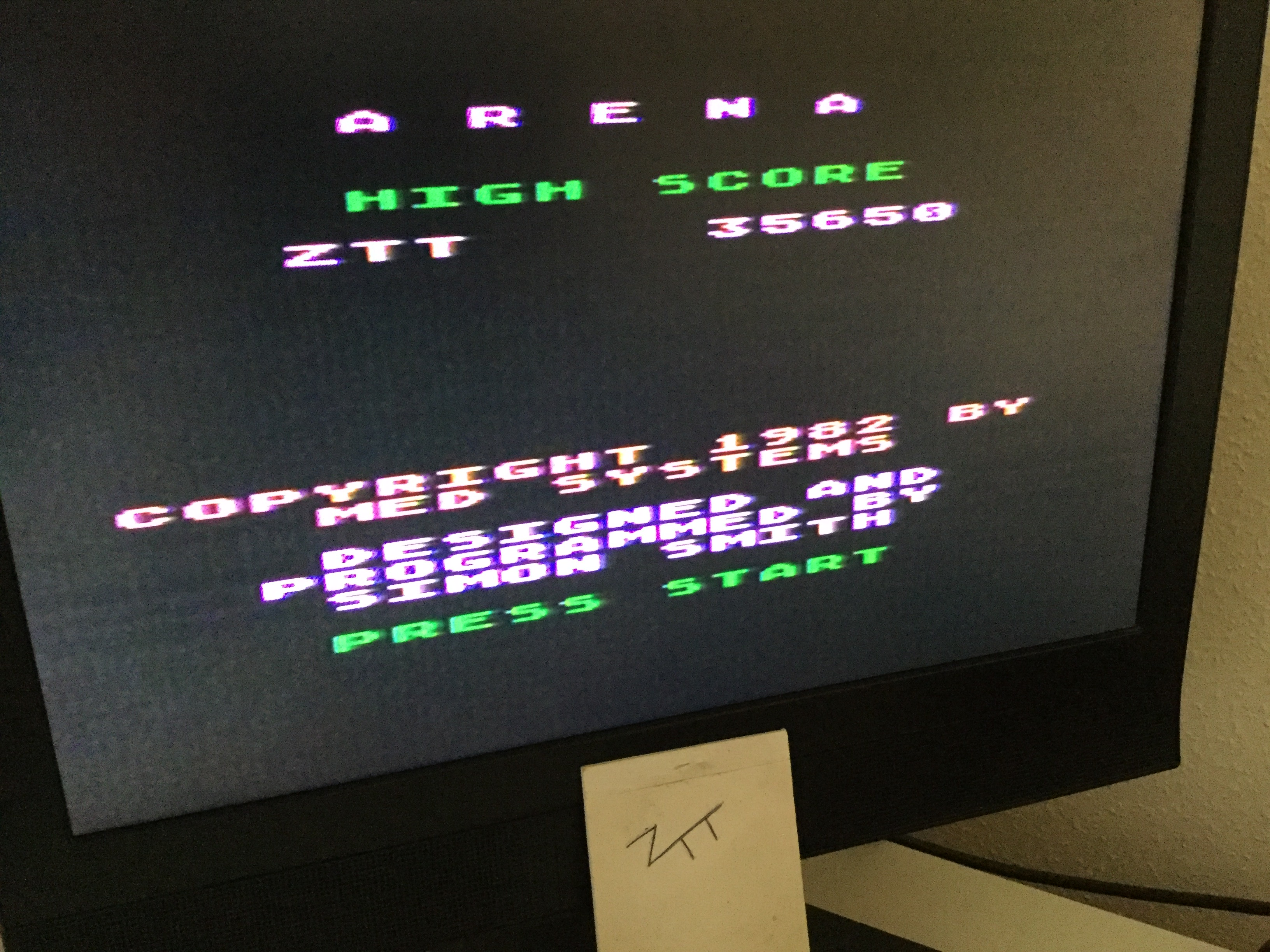 Frankie: Arena (Atari 400/800/XL/XE) 35,650 points on 2020-04-09 02:20:27