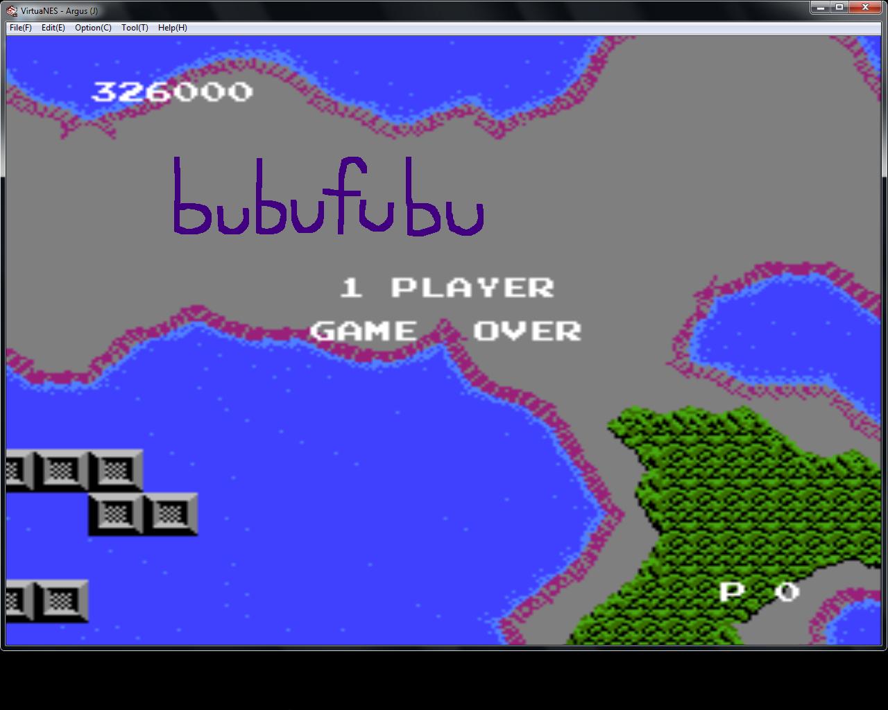 bubufubu: Argus (NES/Famicom Emulated) 326,000 points on 2015-07-11 18:21:26