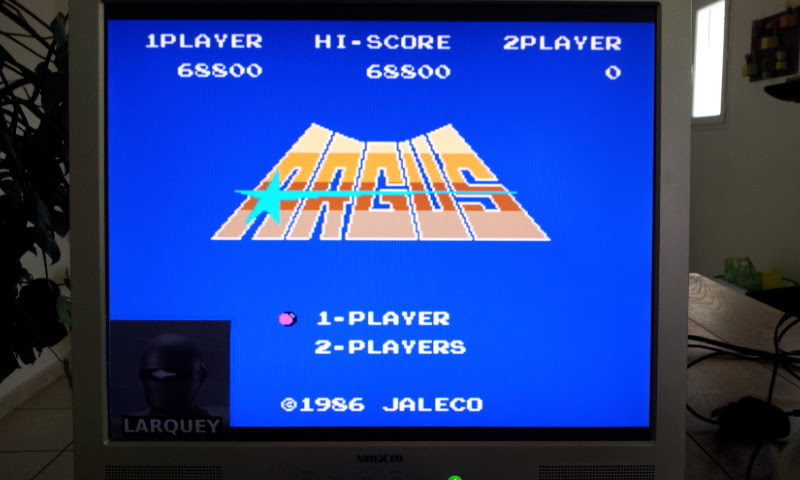 Larquey: Argus (NES/Famicom Emulated) 68,800 points on 2017-04-27 04:49:51