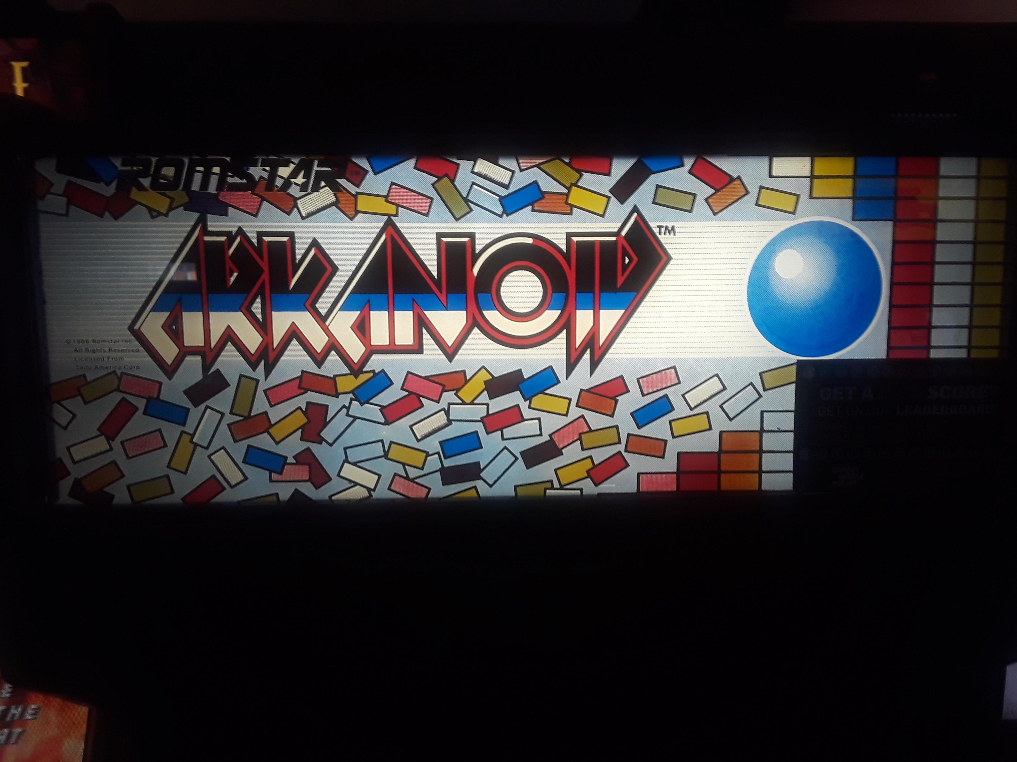 JML101582: Arkanoid (Arcade) 24,000 points on 2019-01-11 14:23:14