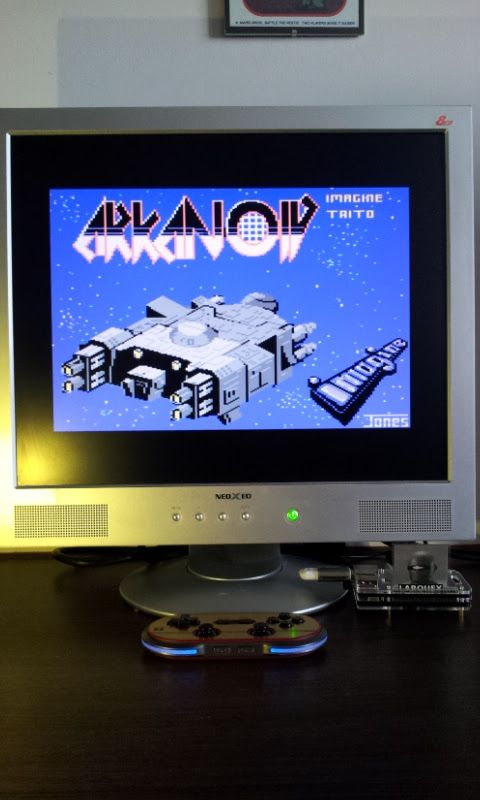 Larquey: Arkanoid (Commodore 64 Emulated) 18,980 points on 2017-03-12 09:43:09