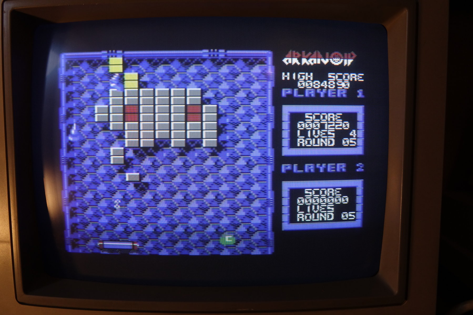 plus4punk: Arkanoid (Commodore 64) 84,890 points on 2020-04-29 14:11:47