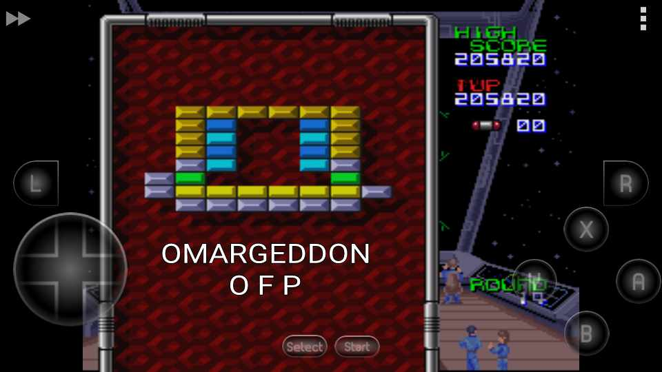 omargeddon: Arkanoid: Doh It Again (SNES/Super Famicom Emulated) 205,820 points on 2016-11-18 23:50:05