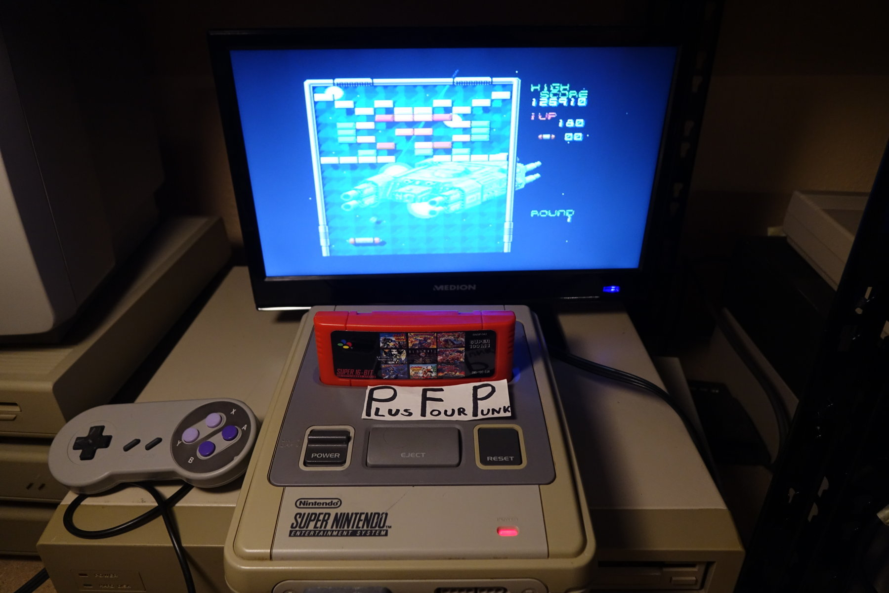 plus4punk: Arkanoid: Doh It Again (SNES/Super Famicom) 126,910 points on 2020-05-06 16:42:38