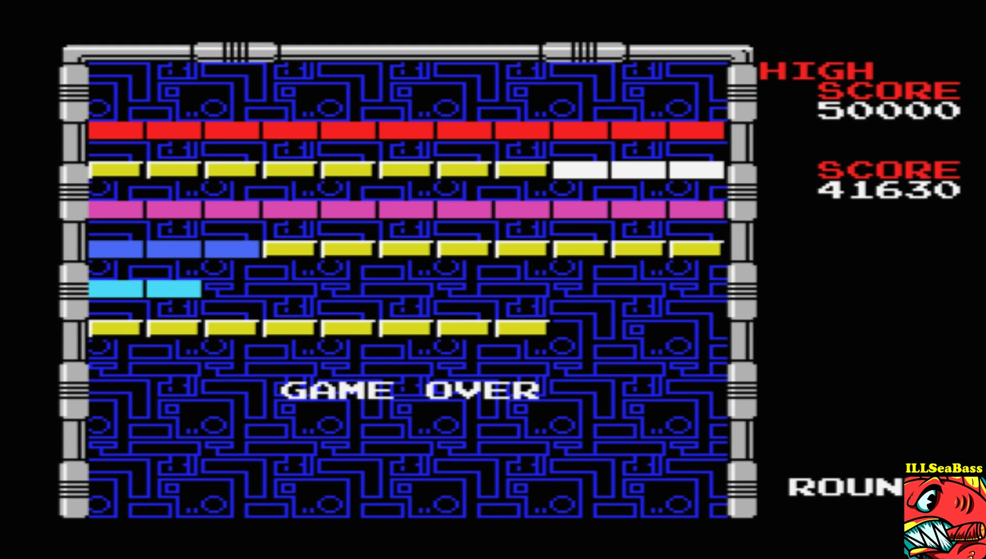 ILLSeaBass: Arkanoid (MSX Emulated) 41,630 points on 2017-04-08 23:35:26