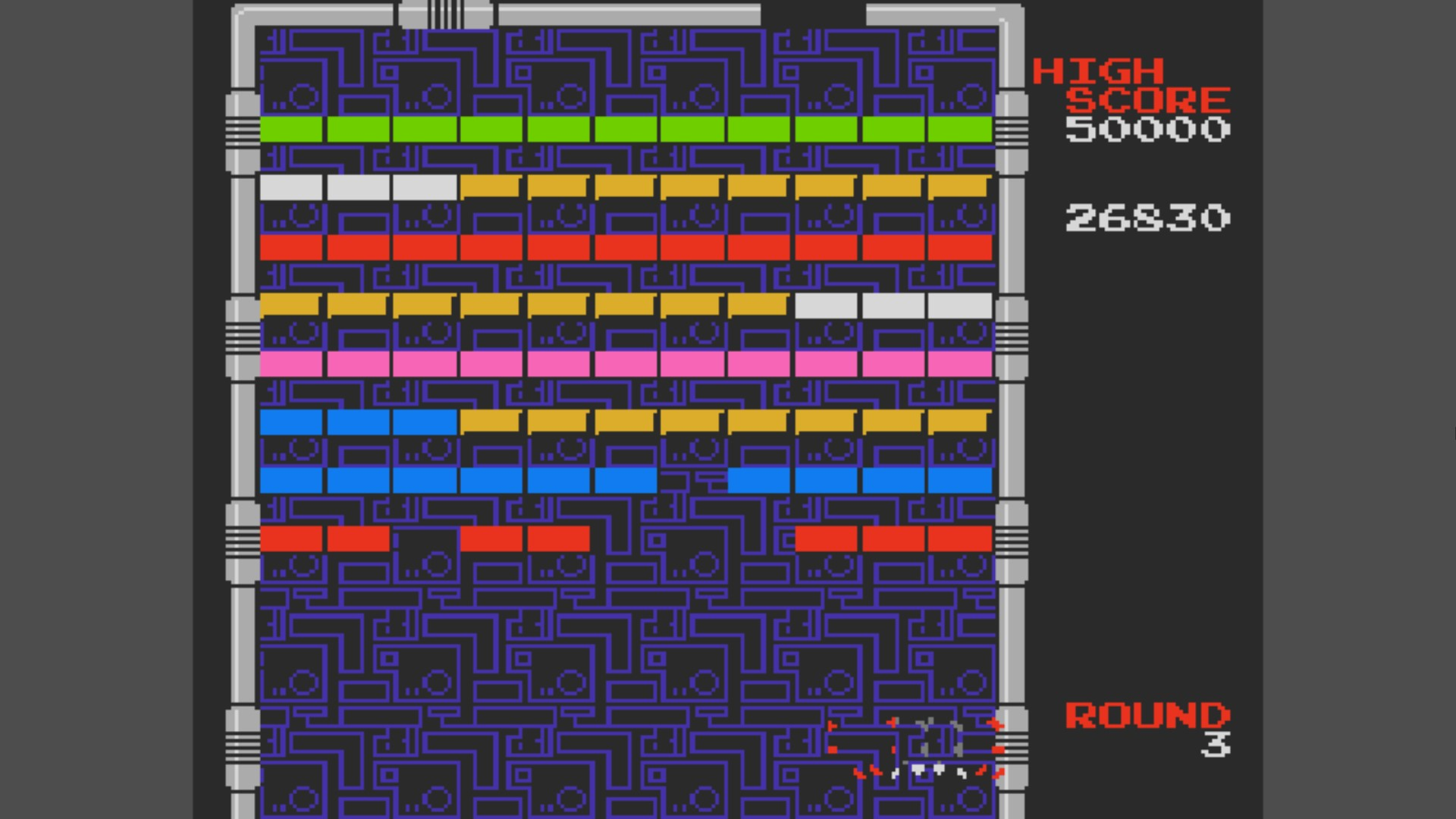 Arkanoid 26,830 points