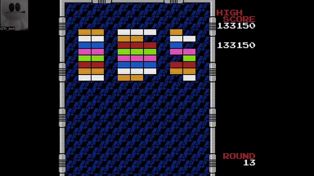 GTibel: Arkanoid (NES/Famicom Emulated) 133,150 points on 2017-04-27 12:33:21