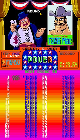 Arm Wrestling [Nintendo 1985] 176,450 points