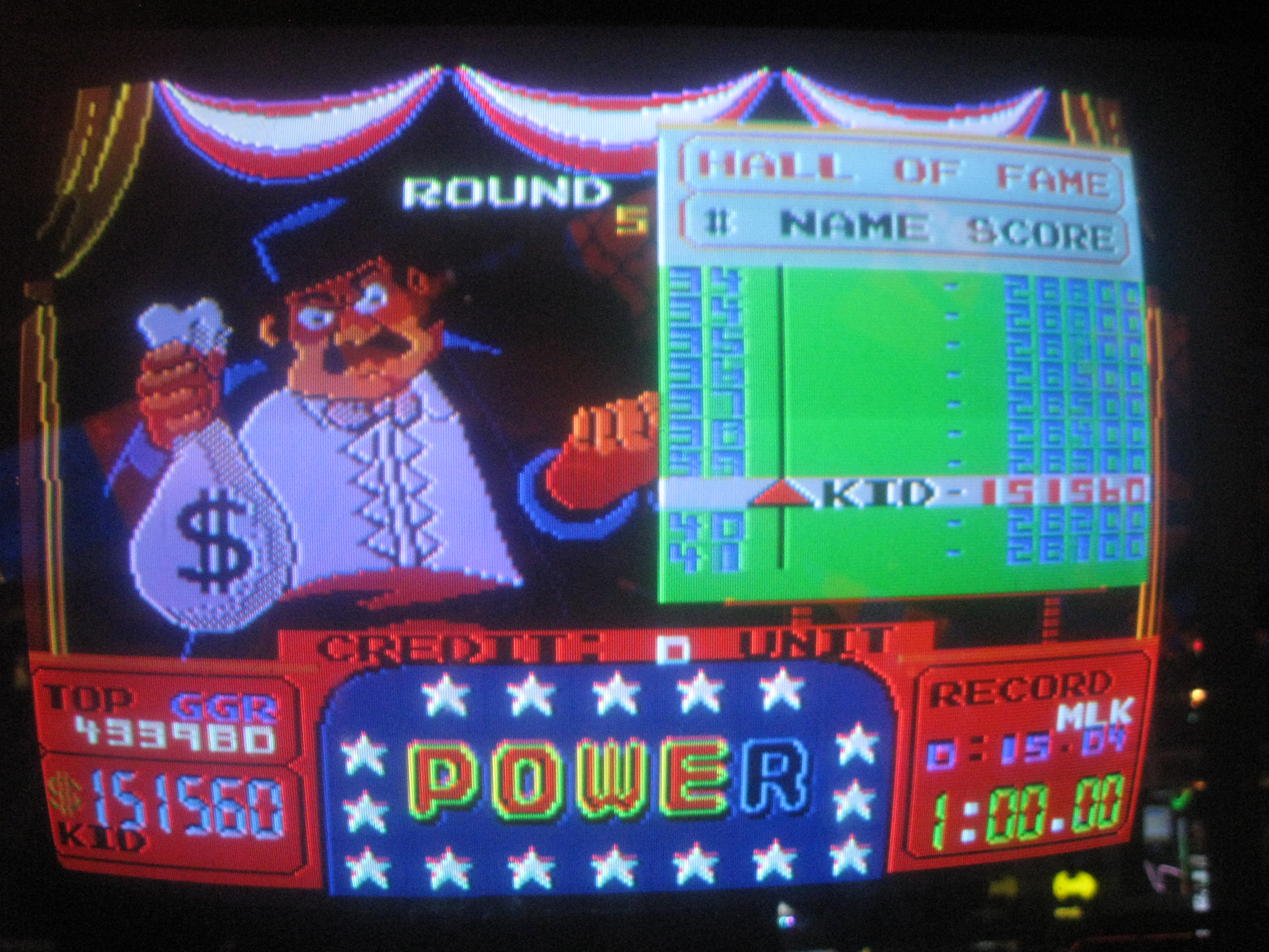 Arm Wrestling [Nintendo 1985] 151,560 points