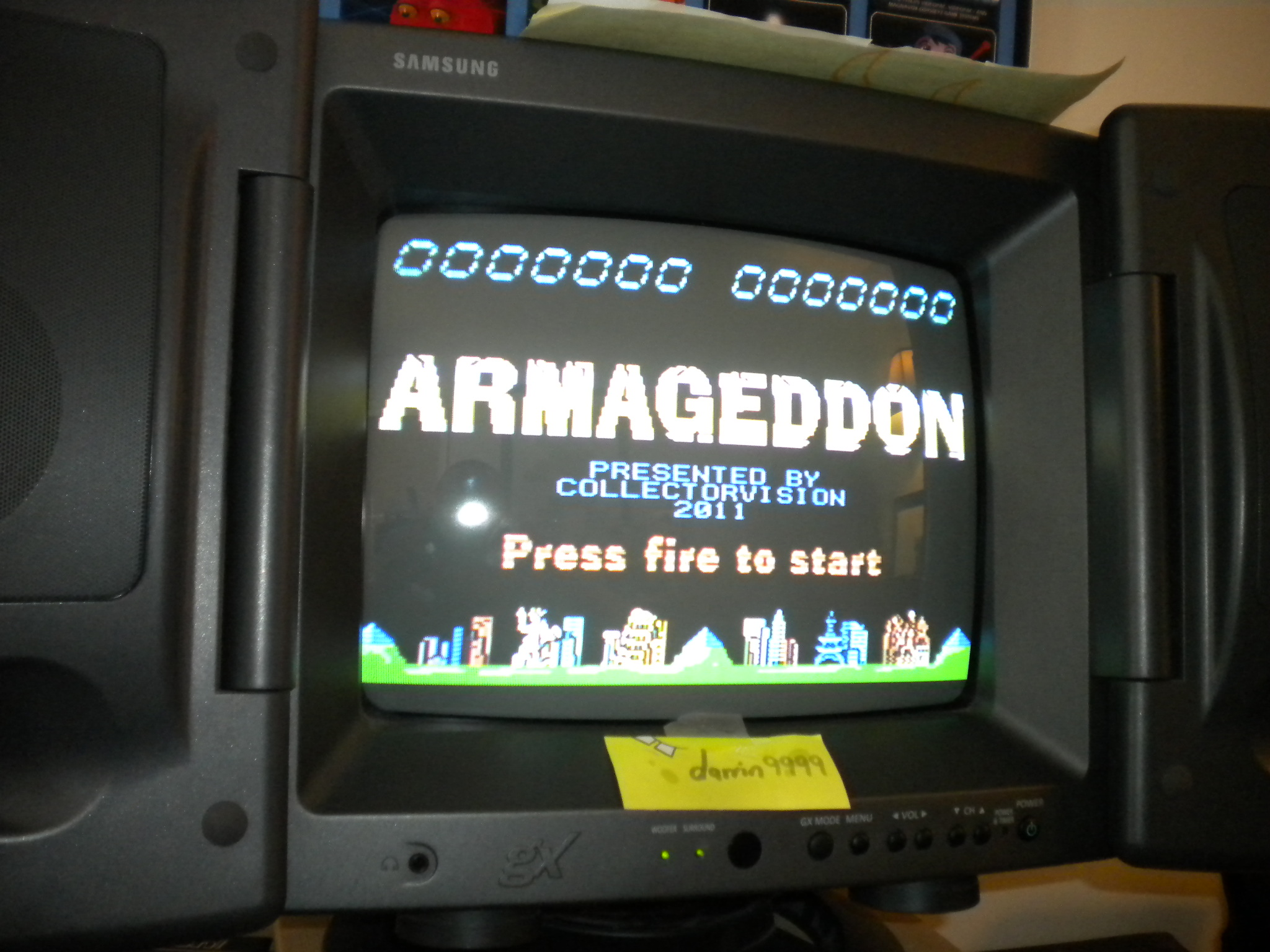 darrin9999: Armageddon (Colecovision) 22,920 points on 2016-11-12 12:38:26