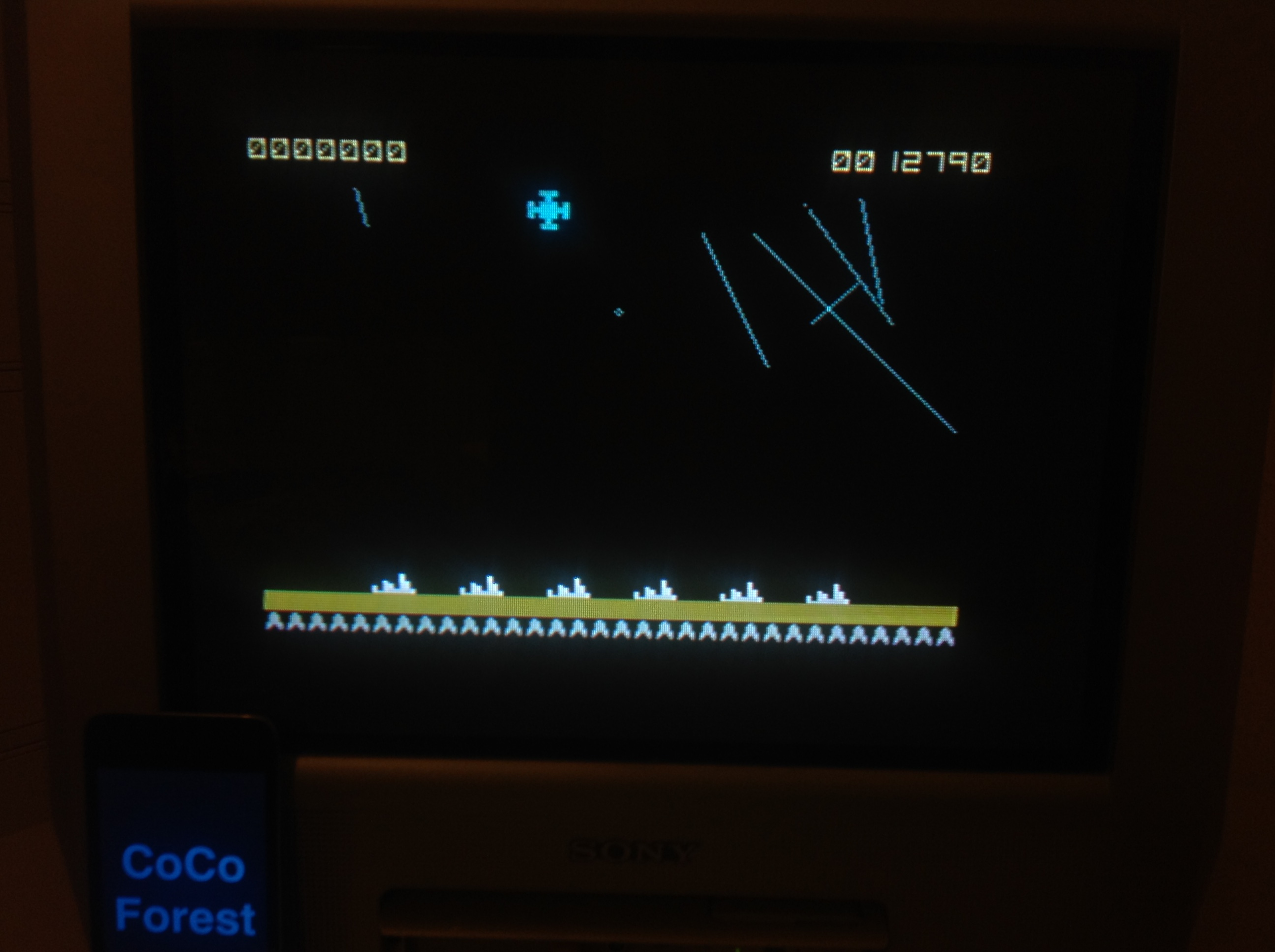 CoCoForest: Armageddon [Ocean Software] (ZX Spectrum) 12,790 points on 2016-01-11 13:44:15