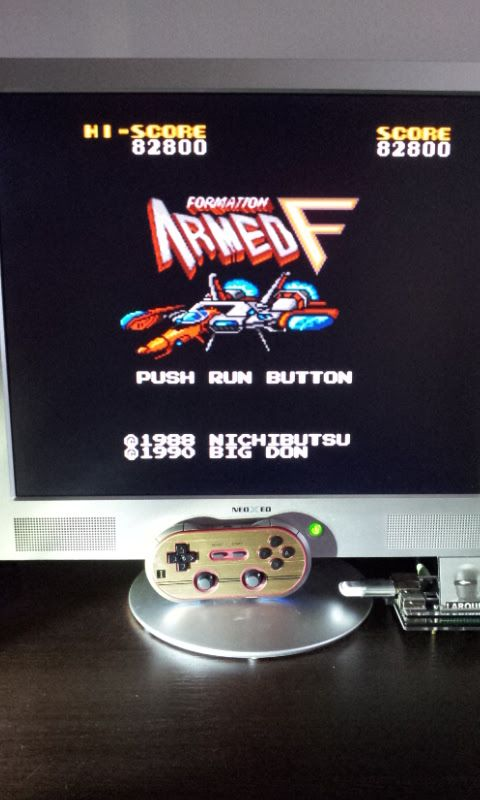 Larquey: Armed Formation F (TurboGrafx-16/PC Engine Emulated) 82,800 points on 2017-01-20 09:31:44