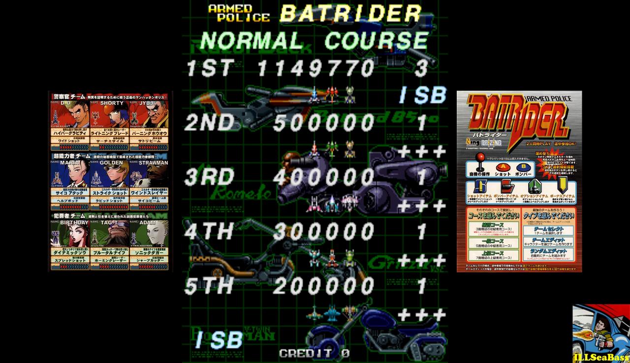 Armed Police Batrider: Normal [batrider] 1,149,770 points