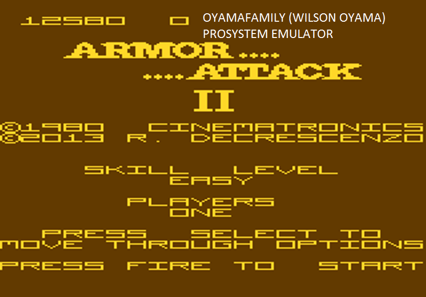 oyamafamily: Armour Attack 2: Easy (Atari 7800 Emulated) 12,580 points on 2016-03-08 19:22:07