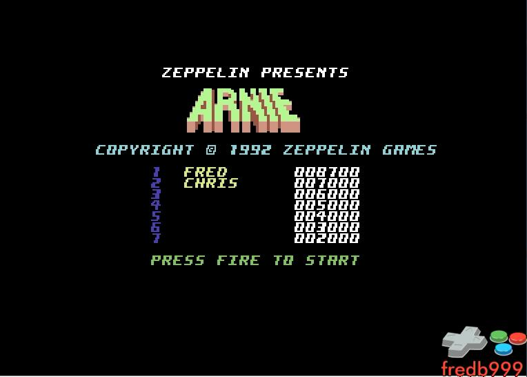Arnie 8,700 points