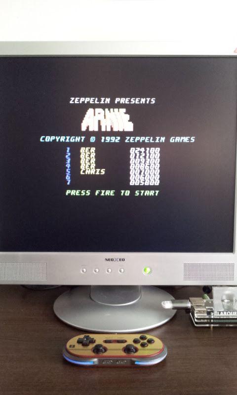 Larquey: Arnie (Commodore 64 Emulated) 24,100 points on 2017-03-12 11:33:45