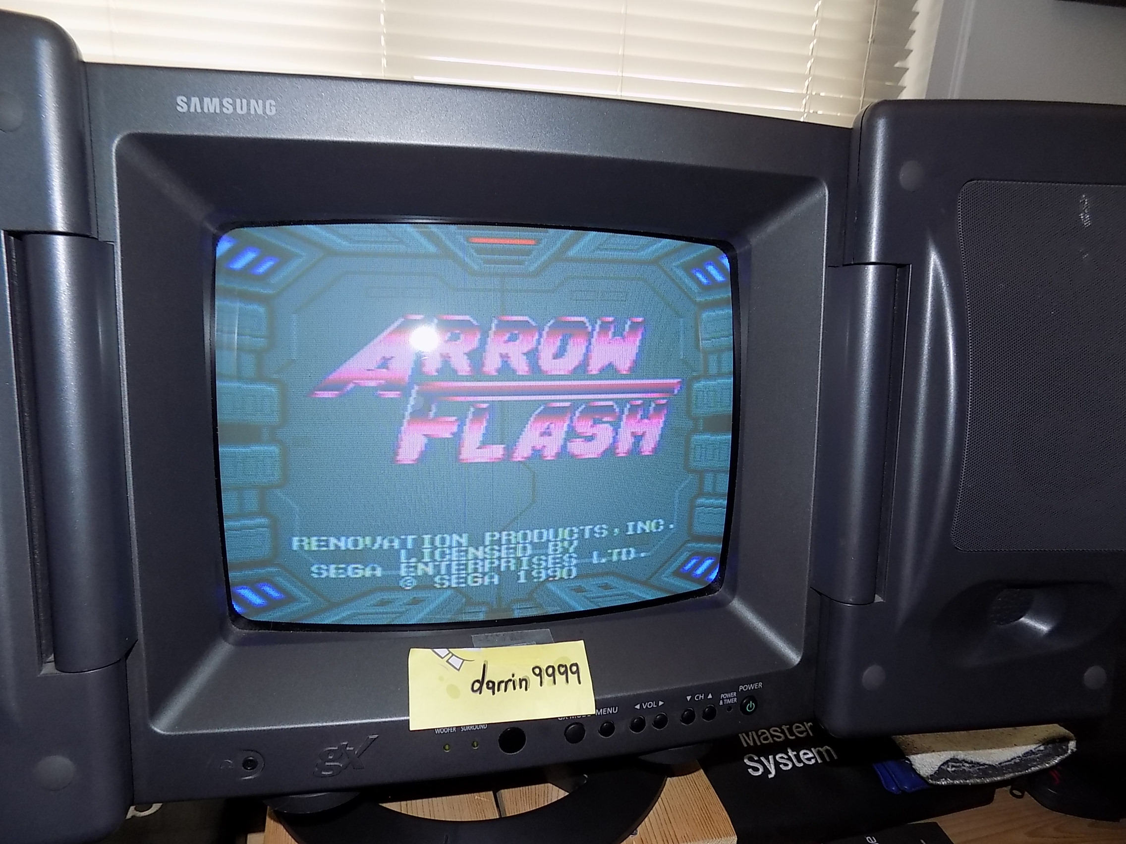 darrin9999: Arrow Flash: Easy (Sega Genesis / MegaDrive) 121,200 points on 2019-03-31 10:29:53