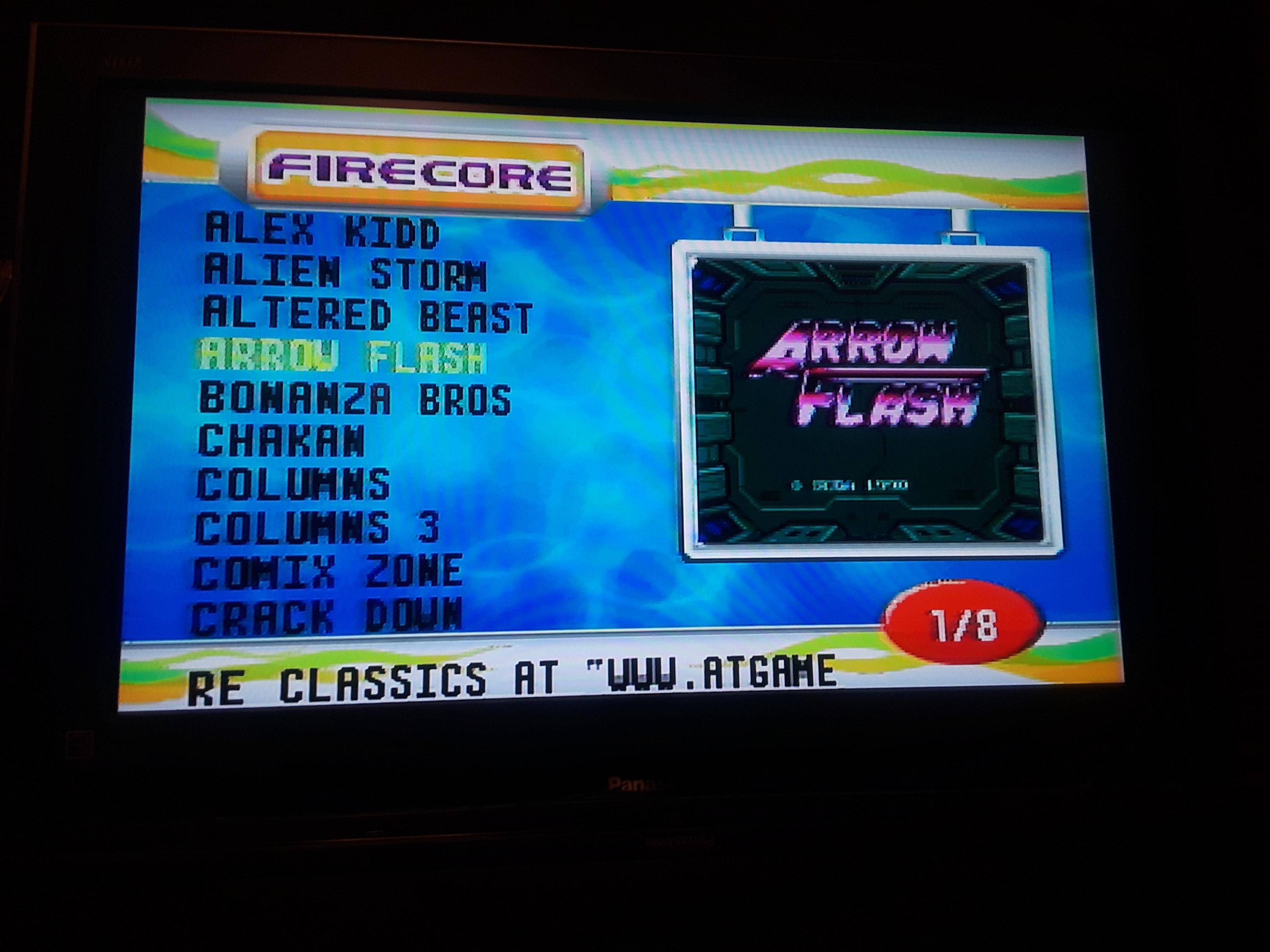 Arrow Flash [Hard / Auto Fire Allowed] 5,280 points