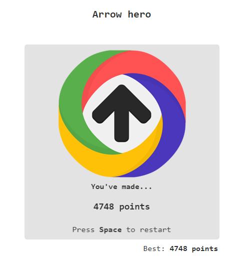 Arrow Hero 4,748 points