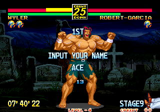 Dumple: Art Of Fighting 3: The Path Of The Warrior (Neo Geo Emulated) 0:07:40.22 points on 2019-07-14 21:56:14