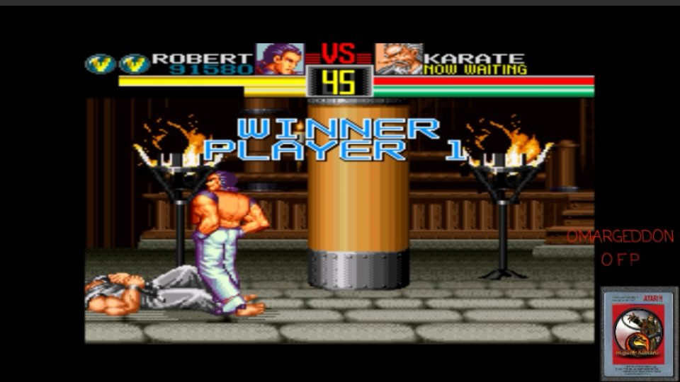 omargeddon: Art of Fighting [Difficulty Level 1 Easy] (SNES/Super Famicom Emulated) 91,580 points on 2017-05-10 23:18:31