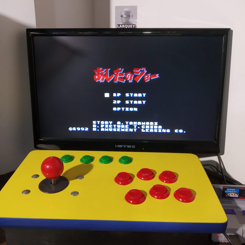 Larquey: Ashita No Joe [Hard] (SNES/Super Famicom Emulated) 78,200 points on 2020-08-17 11:37:57