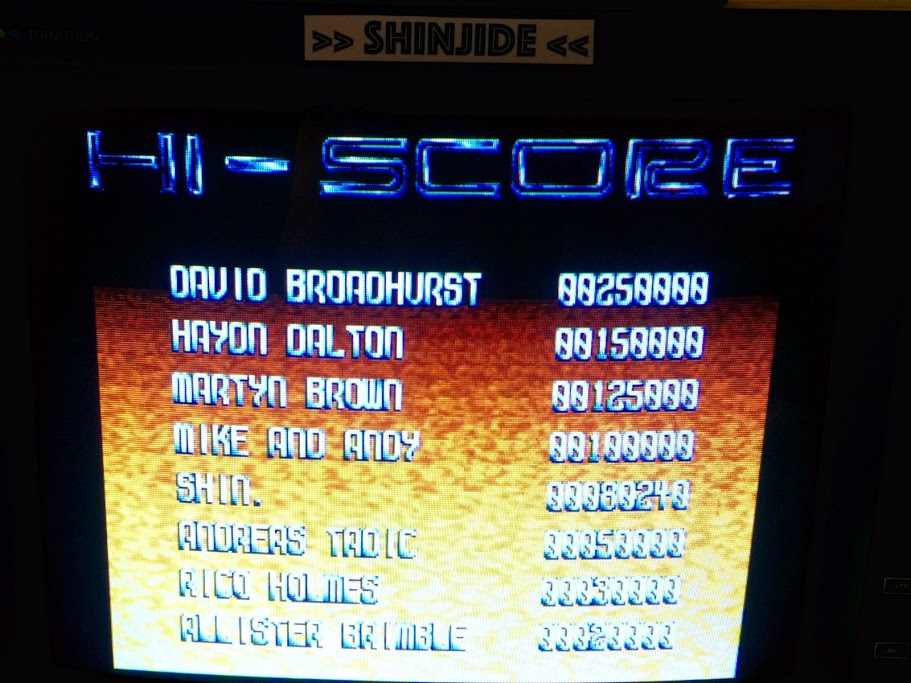Assassin [Arcade - 3 Lives] 80,240 points