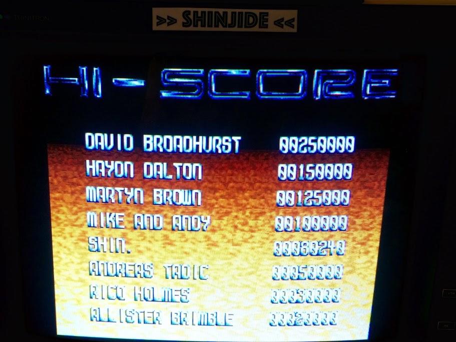 SHiNjide: Assassin [Arcade - 3 Lives] (Amiga) 80,240 points on 2015-08-02 15:33:26