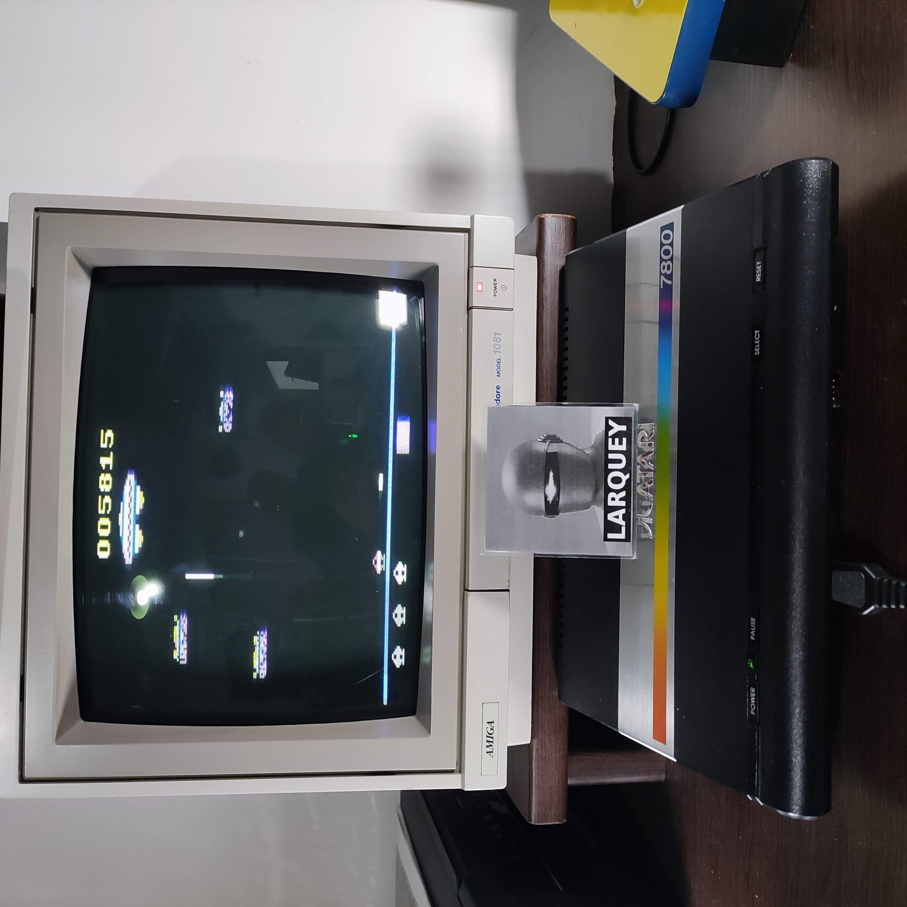 Larquey: Assault (Atari 2600) 5,815 points on 2020-10-22 05:45:21