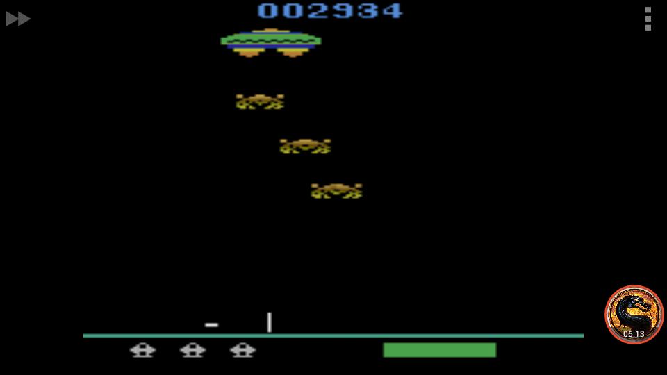 omargeddon: Assault (Atari 2600 Emulated) 2,934 points on 2018-12-29 00:03:19