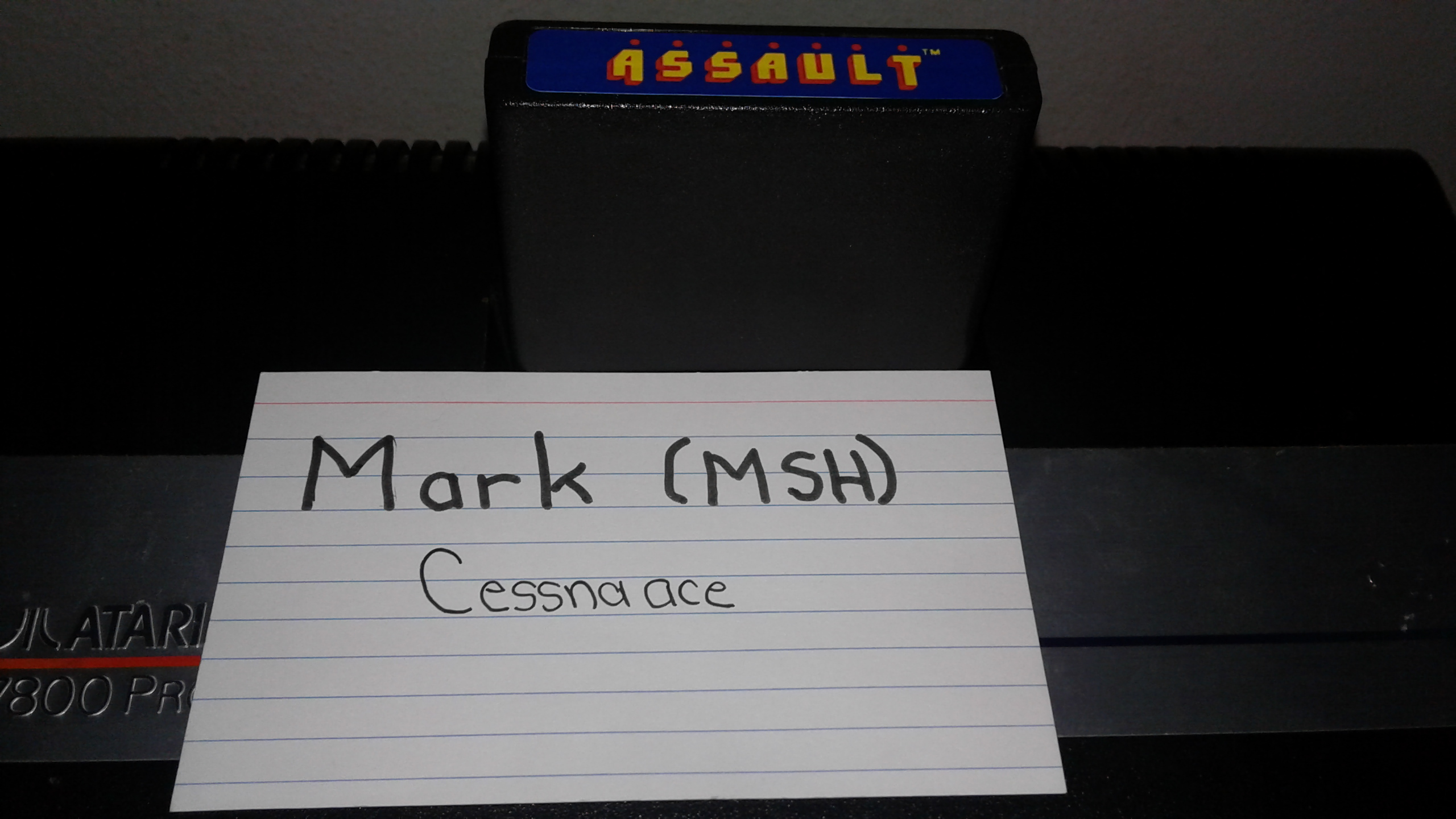 Mark: Assault (Atari 2600) 546 points on 2019-05-04 02:06:32