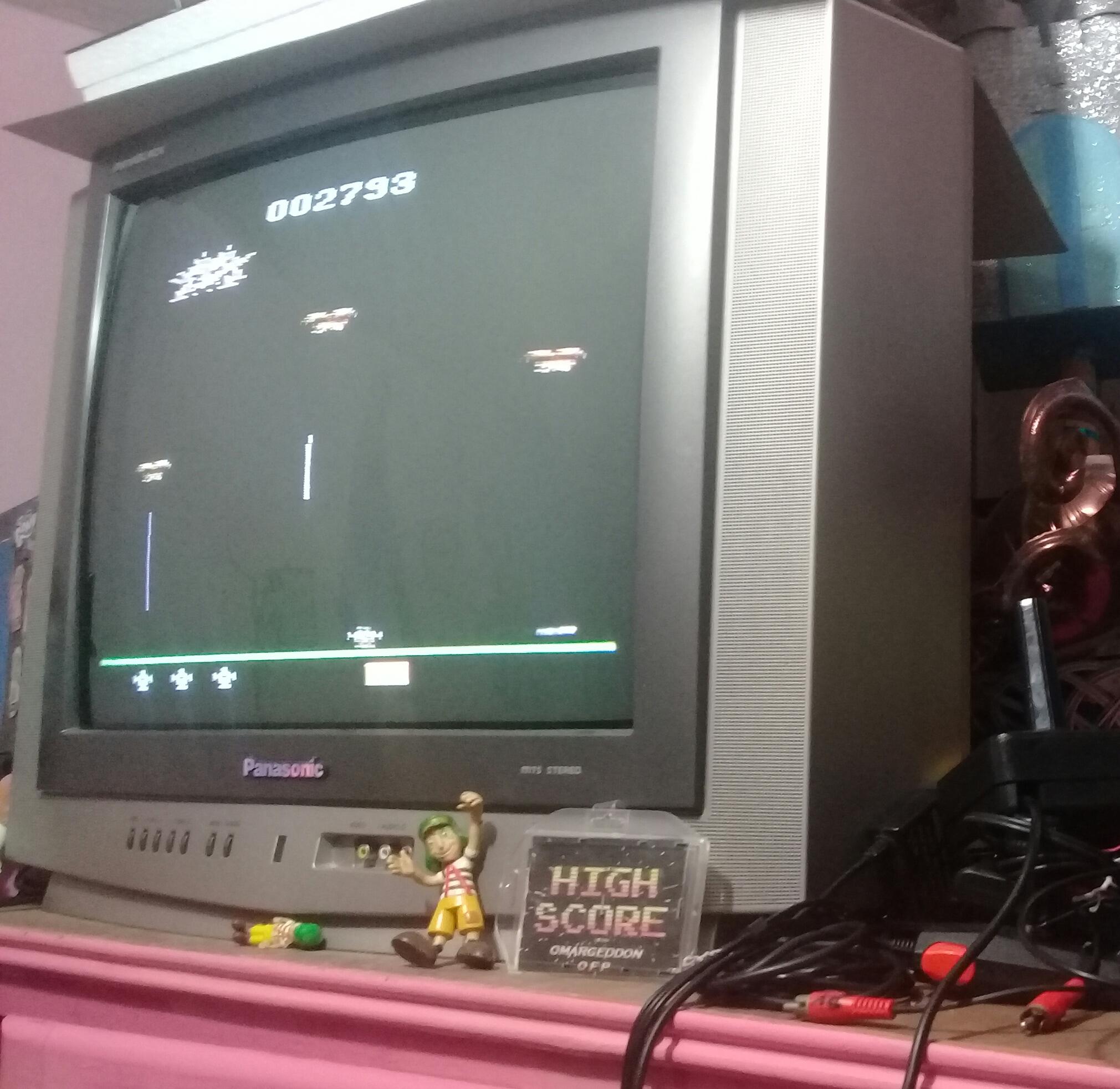 omargeddon: Assault (Atari 2600) 2,793 points on 2019-06-06 09:41:28