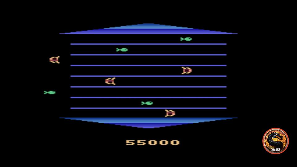 omargeddon: Asterix (Atari 2600 Emulated) 55,000 points on 2019-05-04 19:03:23