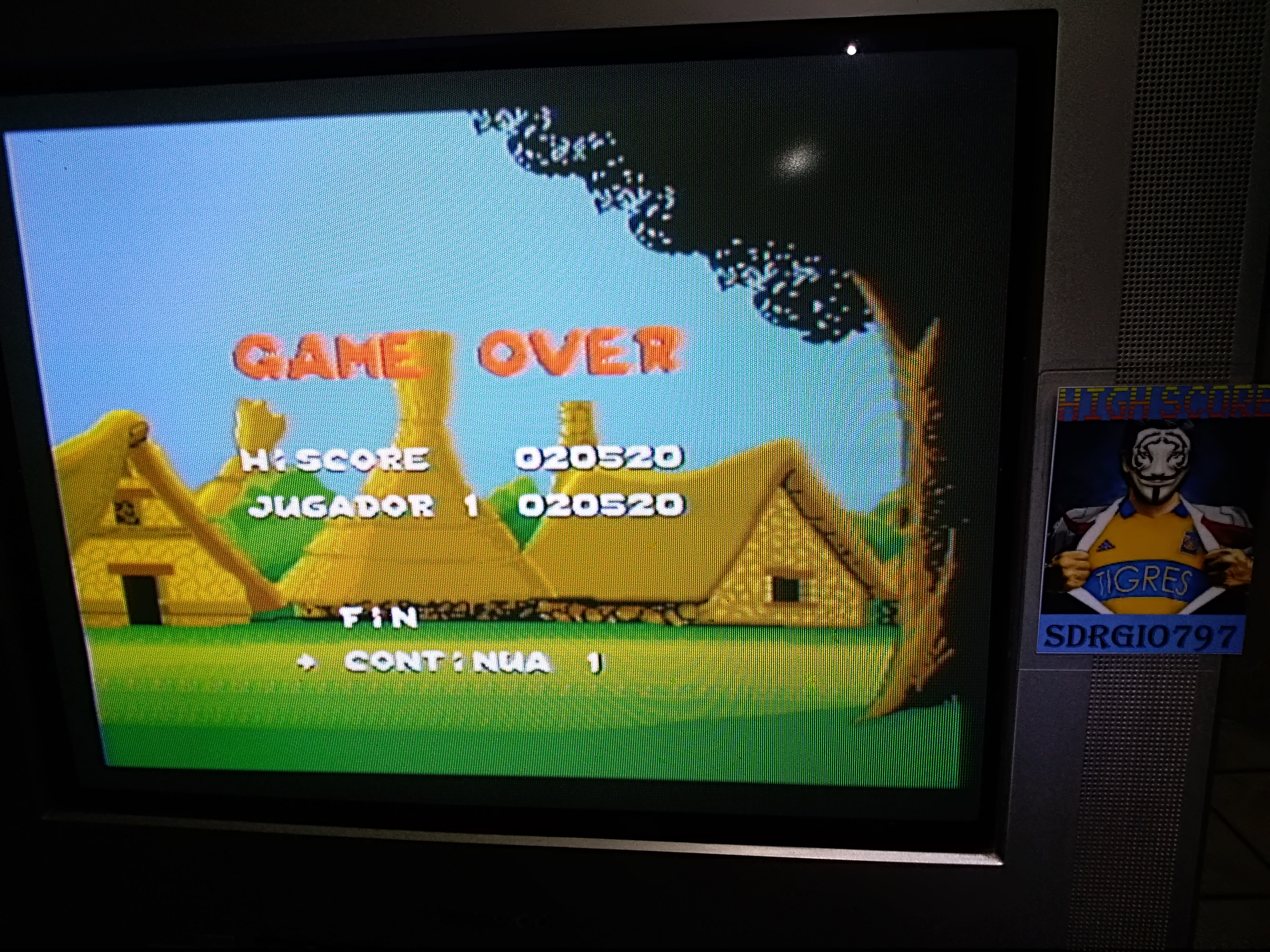 Sdrgio797: Asterix [Difficult] (SNES/Super Famicom Emulated) 20,520 points on 2020-07-28 23:40:40