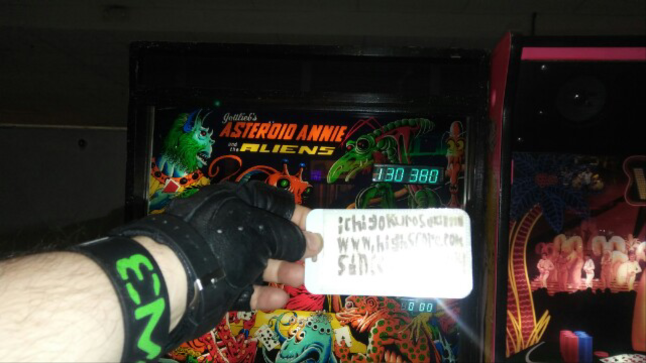 ichigokurosaki1991: Asteroid Annie and the Aliens (Pinball: 3 Balls) 130,380 points on 2016-11-29 16:01:07