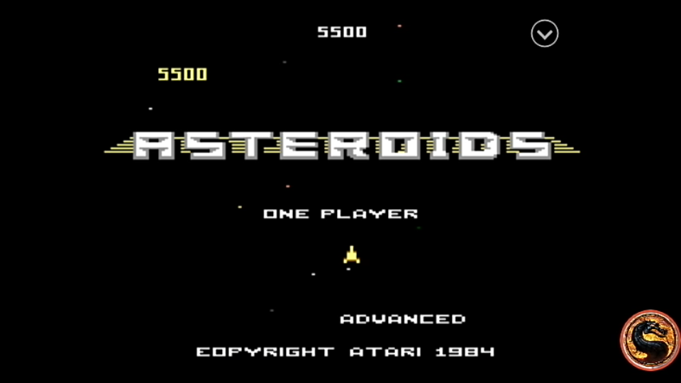 omargeddon: Asteroids: Advanced (Atari 7800 Emulated) 5,500 points on 2019-08-16 13:30:49